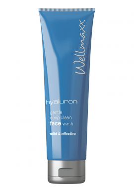 hyaluron gentle deep clean face wash