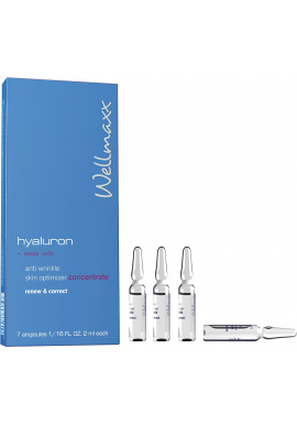 hyaluron + matase de mare anti-wrinkle skin optimizer concentrate