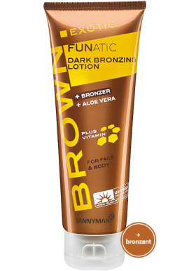 EXOTIC FUNATIC - DARK BRONZING LOTION