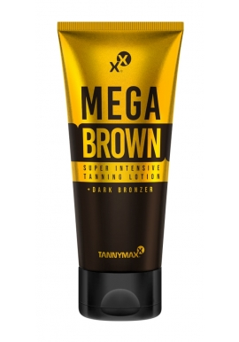 Mega Brown Tanning Lotion + Dark Bronzer