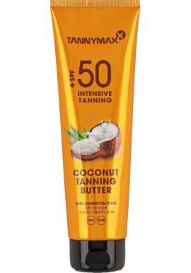 SPF 50 - Coconut Tanning Butter